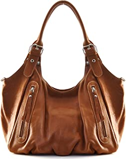 826fa05639 Cuir-Destock sac à main porté main, épaule et bandoulière cuir grainé  modèle righetti