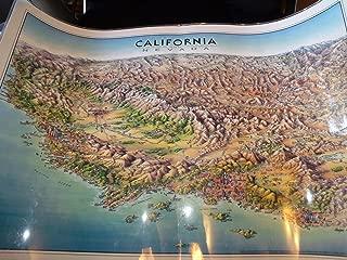 California Laminated Map