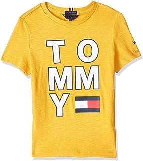 Tommy Hilfiger boys Multi Application Aw Short Sleeve T-Shirt