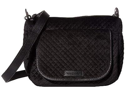 Vera Bradley Carson Mini Shoulder Bag (Classic Black 1) Cross Body Handbags