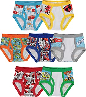 Little Boys' Pixar 7-Pack Brief