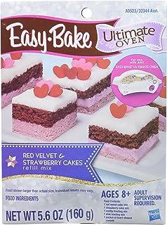 Easy-Bake Ultimate Oven Red Velvet and Strawberry Cakes Refill Pack