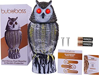 Motion Activated Owl Decoy