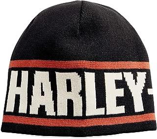 Harley-Davidson Official Men's Reversible Knit Hat, Black