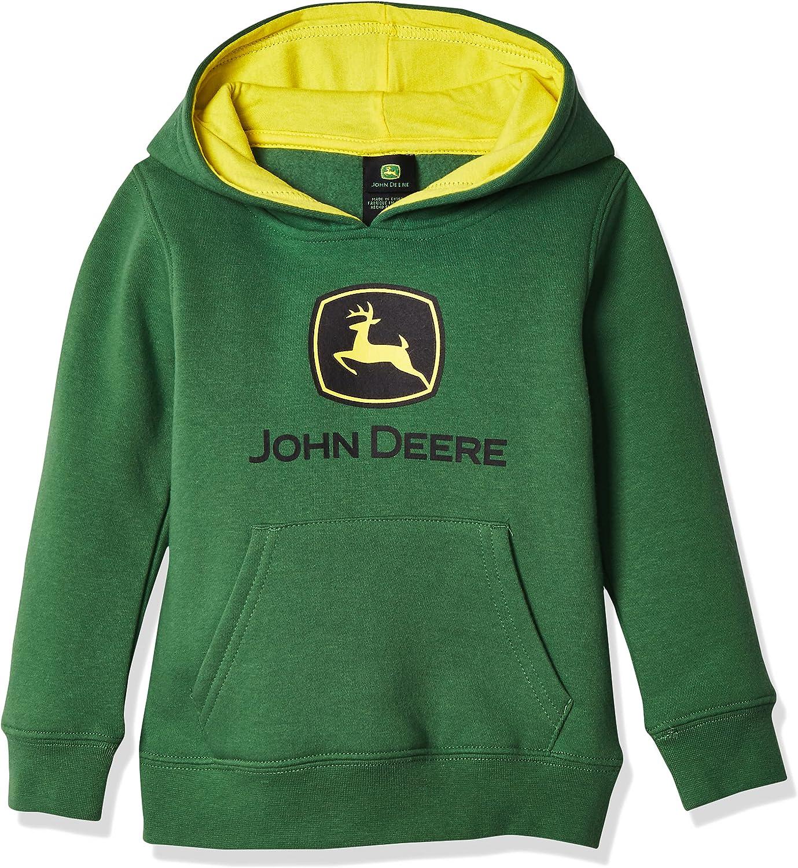 John Deere Tractor Infant Toddler Boys' Pullover Fleece Hoody Sweatshirt