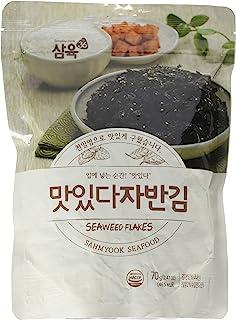 Sahmyook Seasoned Laver Snack (Seaweed Rice Seasoning w/ Sesame Seeds), 2.47 Ounce (1 Pack)