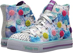 SKECHERS KIDS Twinkle Toes - Shuffles 10849L Lights (Little Kid/Big Kid)