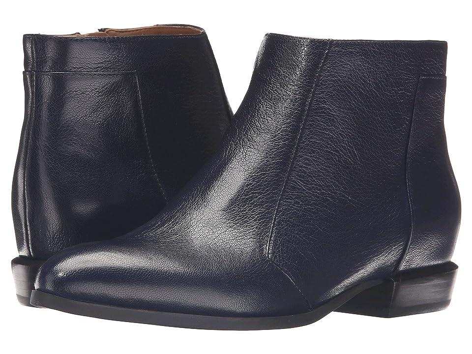 Nine West Dopler (Navy Leather) Women
