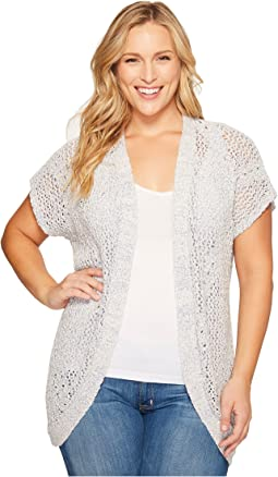 B Collection by Bobeau - Plus Size Ysabel Dolman Sleeve Cardigan