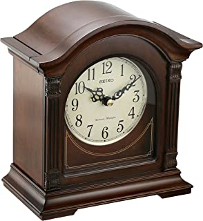 Seiko QXJ029BLH Japanese Quartz Shelf Clock