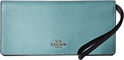 COACH - Color Block Slim Wallet