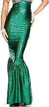 Forplay Women's Mermaid Skirt with Hologram Finish, Halloween Maxi Skirt