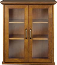 Best unfinished wall cabinets with glass doors Reviews
