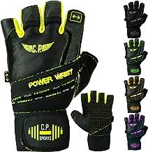 C.P. Sports Power-Wrist handschoen, fitnesshandschoenen, trainingshandschoen, gewichtheffen met stevig verband