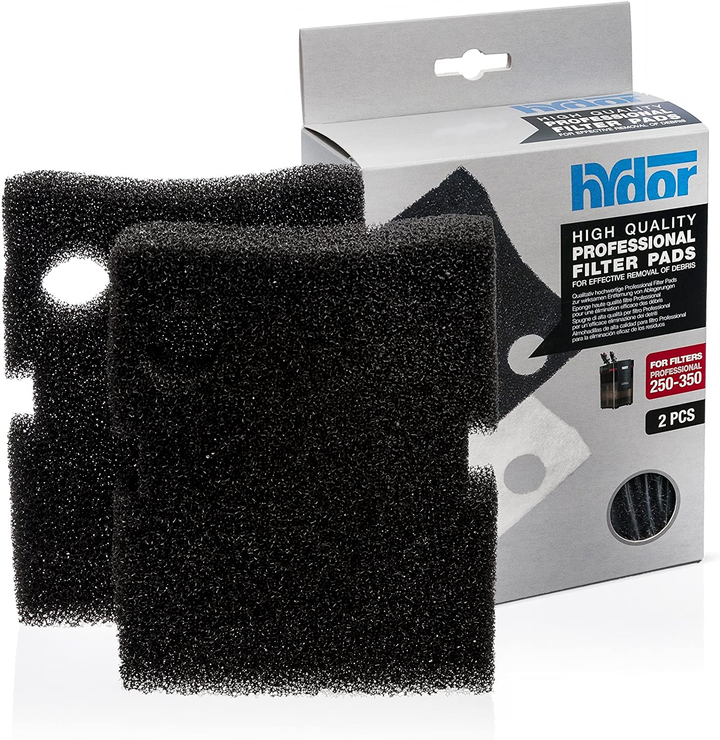 Canister Media Pro 250 350 Blk Pad 2pk