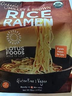 Lotus Foods Organic Brown Rice Ramen (12 Packper Bag), 30 oz