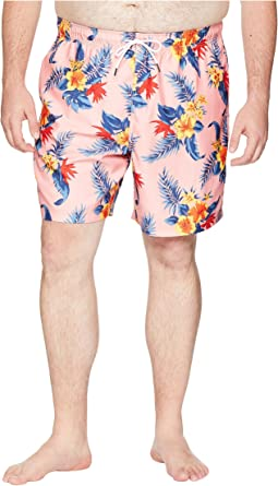 Big & Tall Hibiscus Floral Trunk