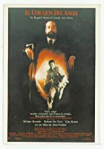 Angel Heart with Robert De Niro, Mickey Rourke & Lisa Bonet Vintage Original Postcard #2528 - 1980's