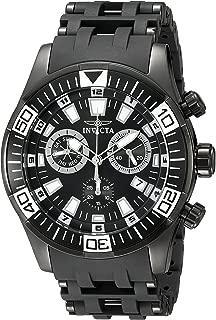 Men's 19533 Sea Spider Analog Display Swiss Quartz Black Watch