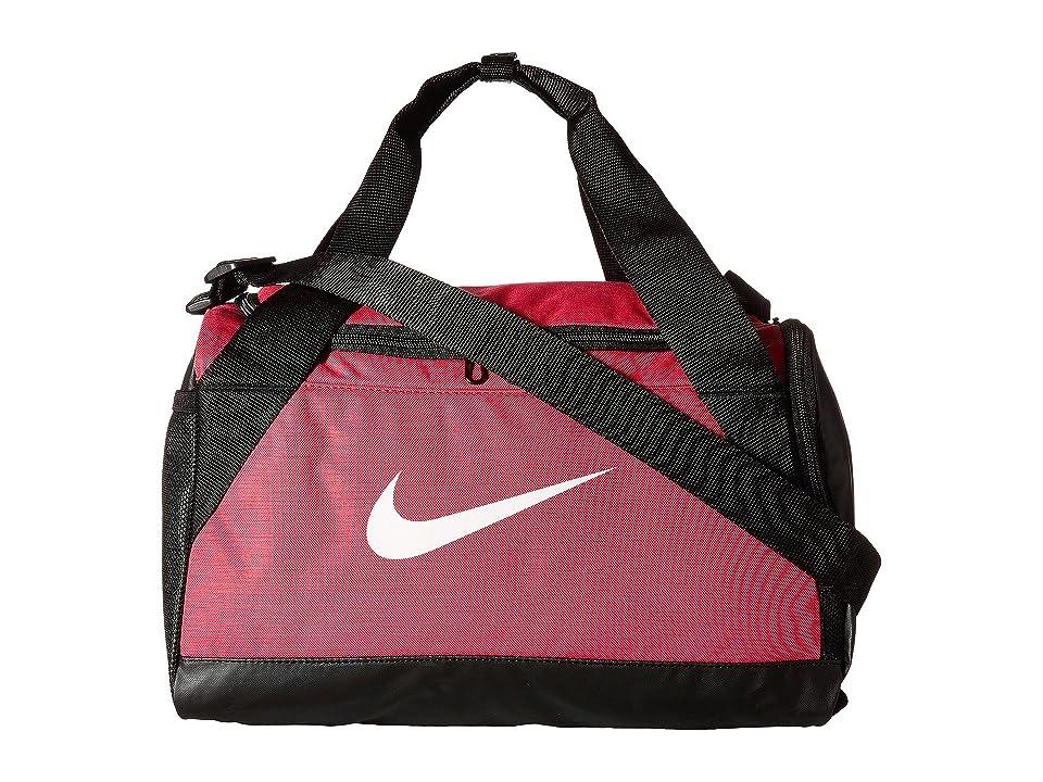 92db04c6636 Nike Brasilia Duffel Extra Small (Rush Pink Black White) Duffel Bags