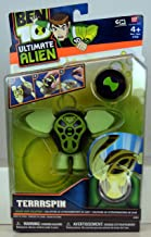Bandai Ben 10 Ultimate Alien Deluxe Alien Collection Terraspin Action Figure