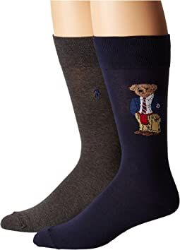 Polo Ralph Lauren - 2-Pack Preppy Bear