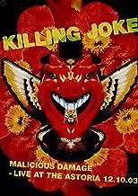 Killing Joke: Malicious Damage - Live At The Astoria 12.10.03 [DVD] [Reino Unido]