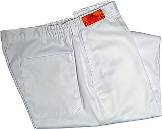 Phoenix 白色松紧腰厨裤,L 码
