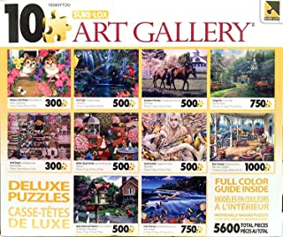 George Sure-Lox Art Gallery 10 Jigsaw Puzzle Pack