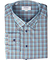 Contemporary Fit Plaid Button Down Shirt