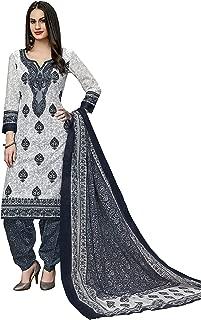 Jevi Prints Women's Pure Cotton Regular Salwar Suit Set