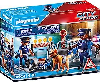 Playmobil 6924 Police Roadblock Playset Toy