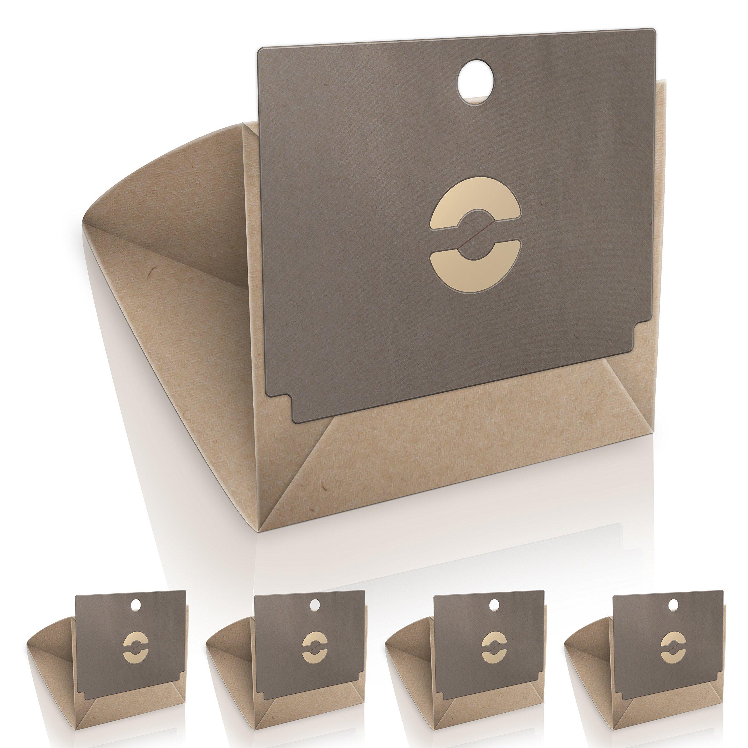WESSPER® Bolsas de aspiradora para Rowenta Dymbo RS015 (5 piezas, papel): Amazon.es: Hogar