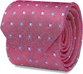 SCAPPINO Corbata Brera Unitalla con Estampado Geométrico Unica Rosa