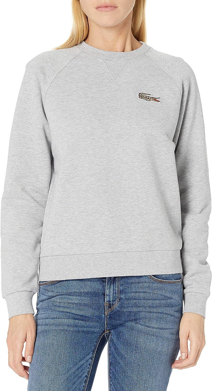 Lacoste Women's National Geographic Croc Crewneck Sweatshirt