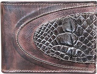 Portafoglio Uomo in Vero Coccodrillo - Prodotto Artigianale fatto nel Cuore della Toscana - Rettile - Vera Pelle