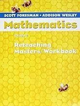 Scott Foresmen-Addison Wesley Mathematics, Grade 2: Reteaching Masters / Workbook