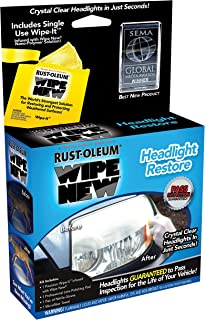 Rust-Oleum HDLCAL Wipe New Headlight Restore, 0.5 FL OZ