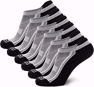 Pure Athlete Bamboo Low Cut Running Socks for Men and Women - Anti-Blister, Cushioned, Comfortable