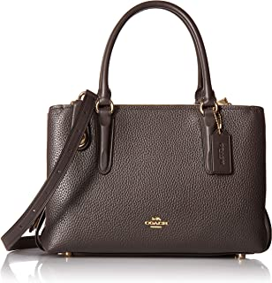 COACH Womens Pebbled Brooklyn 28 Carryall