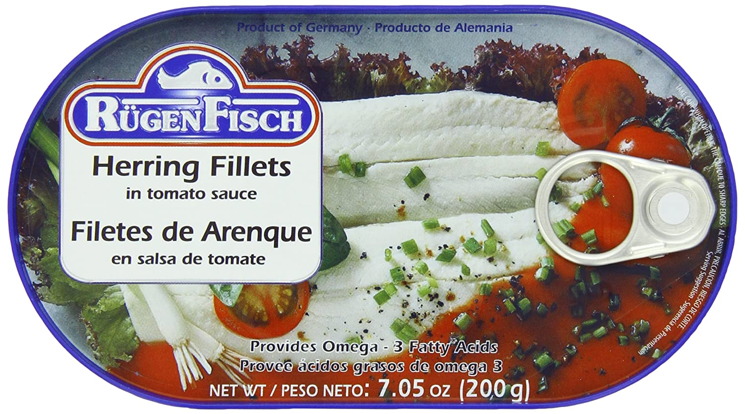RügenFisch Don't miss the campaign Herring in Tomato Luxury Ounce Sauce 7.05
