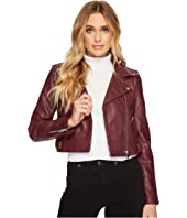 ROMEO & JULIET COUTURE - PU Biker Jacket