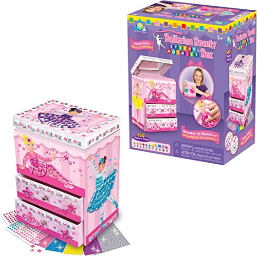 HQ Windspiration Orb Factory 620112 - Sticky Mosaics Ballerina Beauty Box