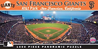 MasterPieces MLB San Francisco Giants Stadium Panoramic Jigsaw Puzzle, AT&T Park, 1000 Pieces