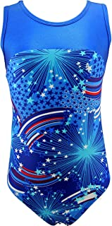 MadSportsStuff Girls Gymnastics Leotard - kids, youth and teen sizes (multiple prints available)