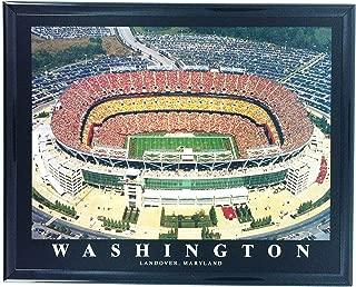 Framed Football Washington Redskins FedEx Field Aerial Photo Wall Art F7536A