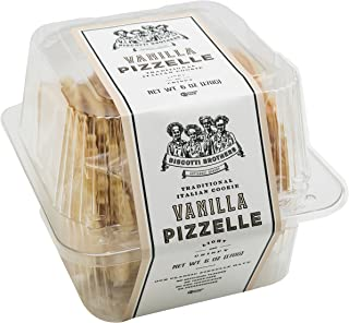 Biscotti Brothers Bakery Pizzelle Cookie, Vanilla, 6 Ounce