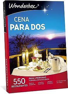 WONDERBOX Caja Regalo -Cena para Dos- 550 restaurantes