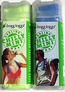 Cooling Towel Neck Wrap Chilly Mini Frogg Toggs Chill Pad (2-Pack)