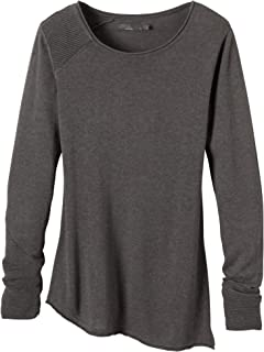 prAna Living Women's Therese Sweater, X-Large, Charcoal